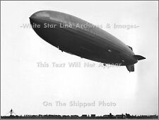 Photo: The Hindenburg Just Seconds From Disaster At Lakehurst, May 6, 1937