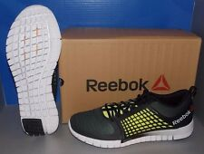 MENS REEBOK ZQUICK ELECTRIFY in colors BLACK / GREEN / WHITE SIZE 13