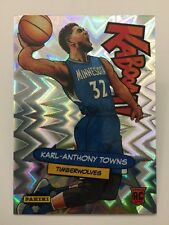 Karl Anthony Towns KABOOM 2015-16 Panini Excalibur Basketball RC