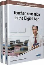 Handbook of Research on Teacher Education in the Digital Age (2015, Hardcover)