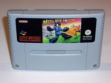 MEGAMAN SOCCER - PAL IN ENGLISH - SUPER NINTENDO SNES - MEGA MAN ROCK ROCKMAN