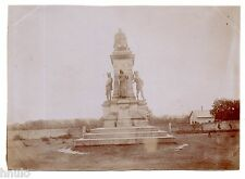 B565 Photo vintage Original Sainte-Anne-d'Auray Morbihan Monument Comte Chambord