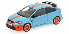 "1/18 Ford Focus RS ""Gulf"" Ford GT40 Tribute Le Mans 1968 MINICHAMPS 100 080068"
