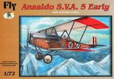 ANSALDO S.V.A.5 EARLY  WW I FIGHTER (REGIA AERONAUTICA/ITALIAN AF MKGS) 1/72 FLY