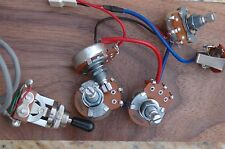 Original Epiphone Les Paul Wiring Harness  - Alpha Pots OEM