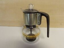 VINTAGE CORY GLASS STOVE TOP 4-8 CUP COFFEE POT MODEL DGPL3