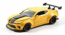 JADA 1/24 DISPLAY BIG TIME MUSCLE 2016 CHEVROLET CAMARO SS WIDE BODY GT 98140 YL