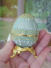 Collectible Decorated Egg Trinket/Jewelry/Engagement Ring Gift Presentation Box