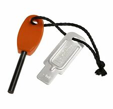 Light My Fire Swedish FireSteel Mini 1,500 Strike Camping Fire Starter - Orange