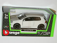 Burago - VW Volkswagen GOLF GTi Mk5 (White) Model Scale 1/32