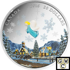 2016 'My Angel (Murano Glass)' Proof $20 Silver Coin 1oz .9999 Fine (17471)
