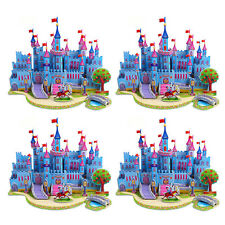 Educational Toys 3D DIY Jigsaw Puzzle Castle Toy For Kids