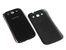 ORIGINAL SAMSUNG GALAXY S3 i9300 i9305 AKKUDECKEL DECKEL BACKCOVER COVER SCHWARZ