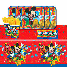 Disney Mickey Mouse and Friends Birthday Party Tableware Pack Kit For 8