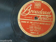 78rpm PEGGY COCHRANE dance of the little dutch dolls / a cuckoo in the nest