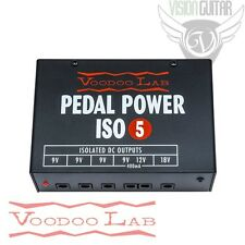 NEW! Voodoo Lab PEDAL POWER ISO 5 - Isolated 9 Volt Power Supply 120v/USA