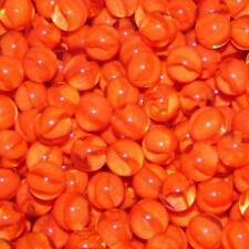 "Marble King One Pound 9/16"" (14mm) Cat's Eye Red Glass Marbles 99011013"