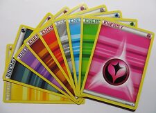 Complete Pokemon GENERATIONS Base set ENERGY Cards Bundle