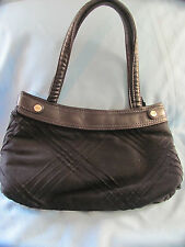 Thirty One Fitted Skirt Purse 31 Black Top Stitch