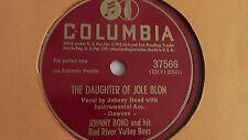 Johnny Bond - 78rpm single 10-inch – Columbia #37566 Daughter Of Jole Blon