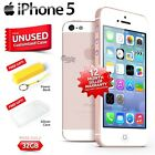 New in Sealed Box Factory Unlocked APPLE iPhone 5 Rose Gold 32GB 4G Smartphone