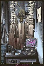 Brazil Terry Gilliam Alternative Movie Poster by Ammo No. /50 NT Mondo