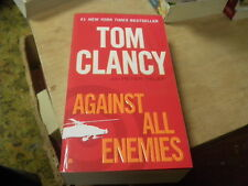 Against All Enemies by Tom Clancy with Peter Telep   2012  (r)