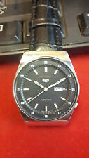 SEIKO 5 AUTOMATIC 6119-7103 RAILWAY TIME DIAL BEAUTIFUL VINTAGE WATCH