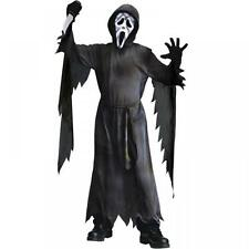 ENFANTS SCREAM GHOST MASQUE VISAGE HALLOWEEN DÉGUISEMENT COSTUME TENUE 8-10Y