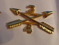 U.S.ARMY,OFFICER BRANCH OF SERVICE COLLAR DEVISE,4TH BN,3RD SPECIAL FORCES GRP