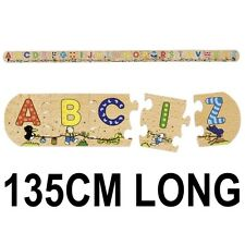 135CM WOODEN LEARN THE ALPHABET A-Z  EDUCATIONAL JIGSAW PUZZLE TOY GAME 57013