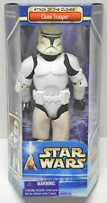 "Star Wars CLONE TROOPER White AOTC 12"" Action Figure 1/6th scale NIP"