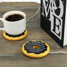 USB Electric Coffee Tea Warmer Cup Pad Mug Hot Drink Warmer for Desktop Laptop