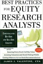 Best Practices for Equity Research Analysts : Essentials for Buy-Side and Sel...