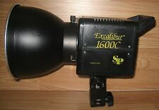 SP Studio Systems Excalibur 1600 Electronic Monolight Flash w/ AC Power Cord