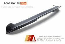 3D Carbon Fiber Trunk Spoiler Wing for BMW F20 F21 Pre-LCI 1-Series Hatchback