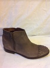 Next Brown Ankle Leather Boots Size 3