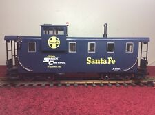 LGB 43710 SANTA FE CABOOSE QUEEN MARY SERIES WITH WORKING LIGHTS-G SCALE CABOOSE