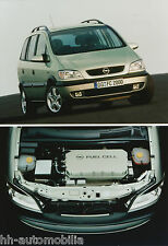 Opel Zafira Fuell Cell concept car orig Werksfoto Foto 2/00 21 x 14,7 cm (int 2)