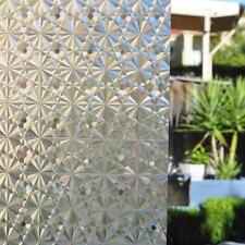 3D decorative window film stained glass vinyl paper privacy covering static film