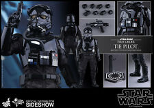 STAR WARS First Order TIE Fighter Pilot Sixth Scale Figure by Hot Toys Sideshow