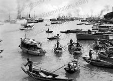 8x10 Print Telok Ayer Basin Malay Peninsula Singapore 1937 #TAB