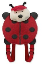 "LADYBUG BACKPACK PET PILLOW ""Plush & Plush"" Brand my animal back pack red lady"