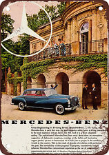 "7"" x 10"" Metal Sign - 1960 Mercedes-Benz 300 - Vintage Look Reproduction"