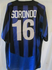 Inter Milan 2003-2004 Sorondo 16 Home Football Shirt Size Extra Large /2989