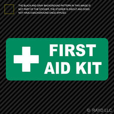 First Aid Kit Inside Sticker Die Cut Decal Self Adhesive Vinyl emergency rescue