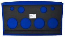 SOUNDBOARD  Heckablage Golf 2 System Board 4 blau MDF  LEERBOARD mit FRÄSUNGEN
