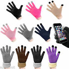 Mens+Womens Touch Screen Gloves For iPhone, iPad, Samsung Galaxy, Nokia, HTC, LG