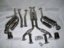 Dual Catback /CAT-BACK Exhaust Hi Power PRO SPEC SUIT 2003-07 Nissan 350Z G35