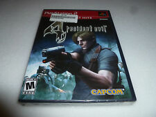 BRAND NEW SEALED PLAYSTATION 2 GAME RESIDENT EVIL 4 CAPCOM PS2 GREATEST HITS NFS